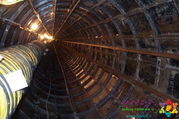 پایدارسازی تونل