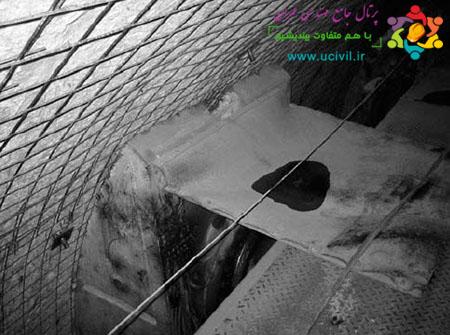 پایدارسازی تونل با توری سیمی