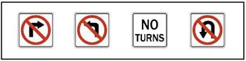تابلوی ممنوعیت گردش