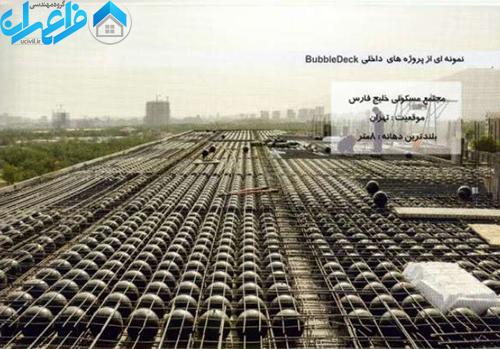 سقف حبابی در ایران