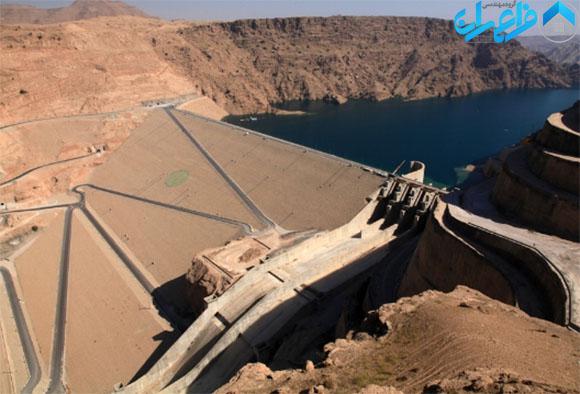 کنترل تبخیر آب مخزن سد