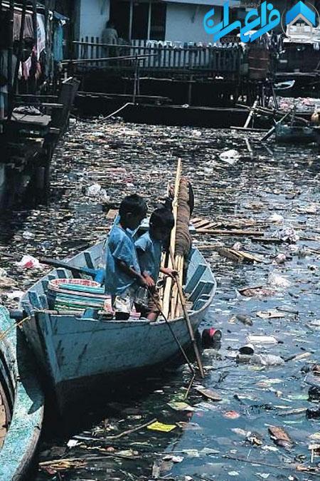 آلودگی آب دریاها