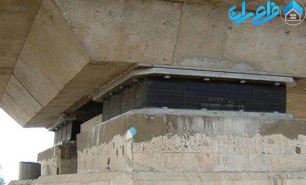 تکیه گاه الاستومتری در ارتعاشات ساختمان