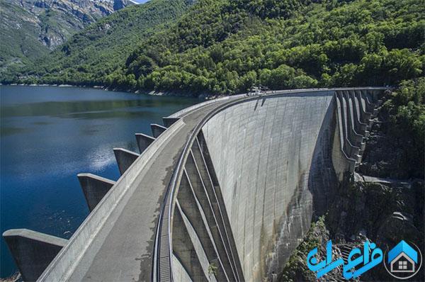 سد کنترا در سوئیس