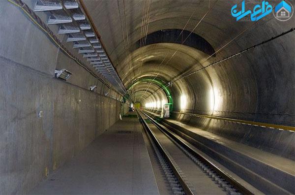 تونل گاتهارد در سوئیس