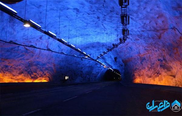 تونل لاردال در نروژ