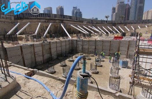 کاهش سطح آب با چاه عمیق