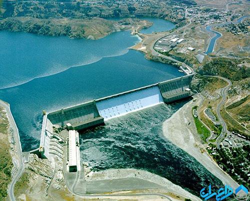 سد Grand Coulee آمریکا