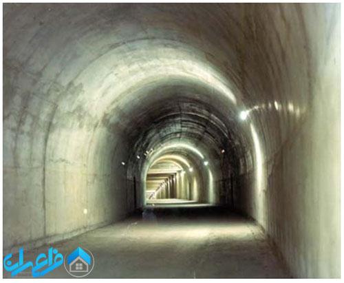 شکل مقطع تونل