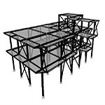 نقشه اجرایی ساختمان فولادی
