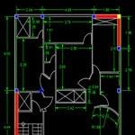 دانلود پروژه بارگذاری ساختمان 4 طبقه مسکونی