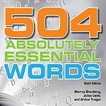 کتاب 504 واژه ضروری انگلیسی نسخه لاتین و ترجمه