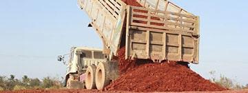آشنایی با مصالح مناسب خاکریزی و انواع خاکریز