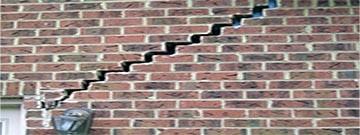 بررسی انواع ترک دیوار آجری و نحوه جلوگیری از آن